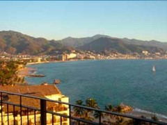 Two bedroom beachfront apartment at Grand Venetian,  pretty close to Vallarta downtown
