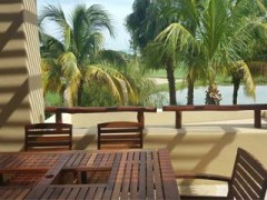 Apartment with lake view on second floor at Isla Palmares El Tigre
